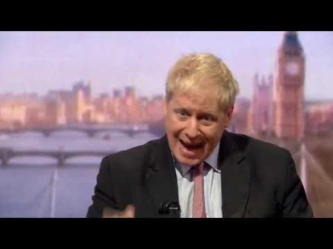 Boris Johnson's interview on The Andrew Marr Show