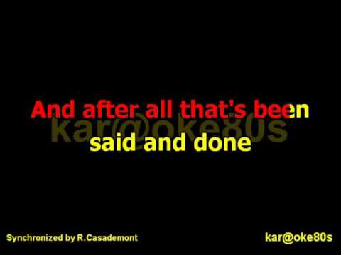 Chicago / Hard To Say I'm Sorry  karaoke