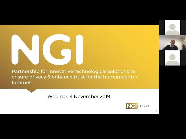 NGI Open Calls   NGI Trust 2nd call webinar (04.11.2019)