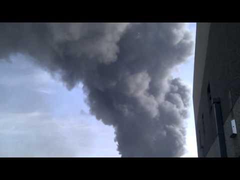 Blaze in Amsterdam Westpoort