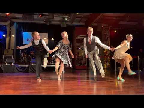 Swiss Boogie Weekend Performance - Sondre, Tanya, Jesper & Alevtina