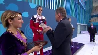 100 метров брасс Антон Чупков(Рекорд Мира среди юниоров) Плавание I Европейские Игры в Баку 2015
