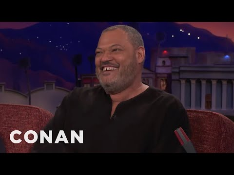 Laurence Fishburne: People Think I'm Morpheus   CONAN on TBS