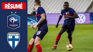 France 0 2 Finlande le re sume I FFF 2020