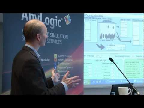 Part II.Simulation modeling applications in the Healthcare industry. AnyLogic_Conference_2012