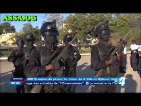 Djibouti: 41ème anniversaire de la Gendarmerie Nationale