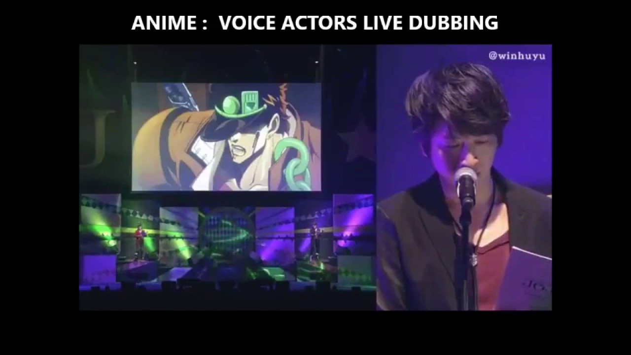 JoJo live voice dubbing