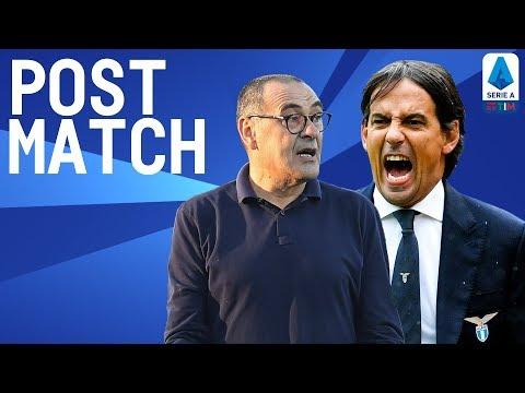 Lazio 3-1 Juventus   Inzaghi & Sarri Post Match Press Conference   Serie A