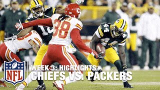 Chiefs vs. Packers | Week 3 Highlights | NFL