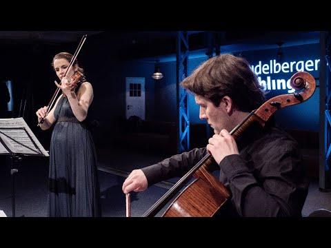 "Alina Pogostkina & Maximilian Hornung spielen Bach und Kodály | ""Lasst uns spielen!"""