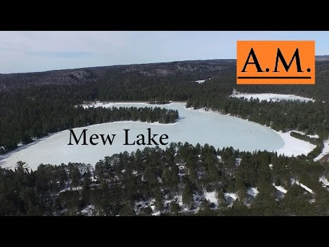 Algonquin Provincial Park - Winter at Mew Lake and Visitors Center