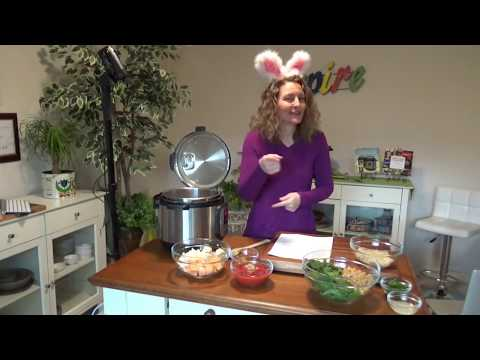 LIVE COOKING SHOW (uncut): Moroccan Potato and Garbanzo Bean Stew Instant Pot