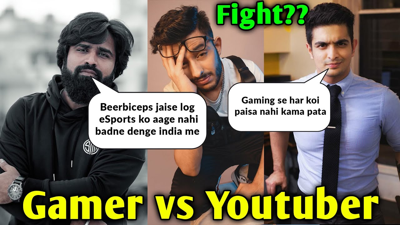Ghatak Reply to Beerbiceps - Gamer vs Youtuber Fight?? | Beerbiceps Demotivating New Gamers
