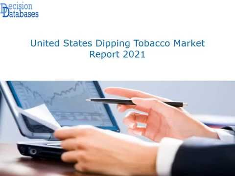 United States Dipping Tobacco Industry Sales and Revenue Forecast 2016