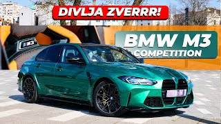 TEST BMW M3 COMPETITION 2021/// M CARBON RACE TRACK PAKET