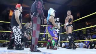 Psycho Clown, Texano Jr y la Parka vs Pagano, Monster Clown y Murder Clown