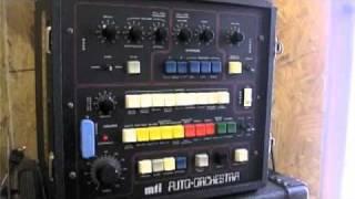 MTI Auto Orchestra  Disco Test