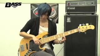 【MI×べーマガ】OPEN HOUSE/ KOTA「ベースで和音&人工ハーモニクス奏法」