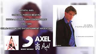 Video Axel - Parece mentira (Audio HQ) // Album LA CLAVE PARA CONQUISTARTE (1999) | OgroWeb download MP3, 3GP, MP4, WEBM, AVI, FLV Mei 2018