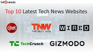 Top 10 Latest Tech News Websites