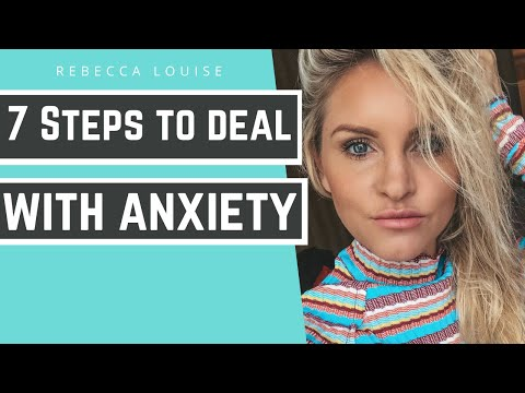 MY ANXIETY - 7 Steps to Dealing with Anxiety. WAKE UP WEDNESDAY | Rebecca Louise