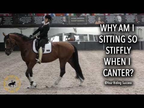 Why Am I Sitting So Stiff In The Canter? - Dressage Mastery TV Ep216