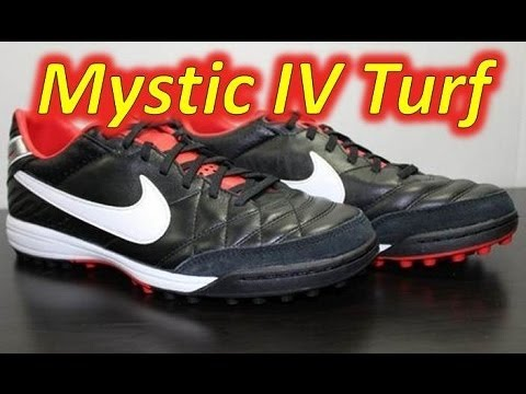 4a5870595bbb Nike Tiempo Mystic IV Turf Black/Challenge Red/Metallic Grey - UNBOXING -  YouTube