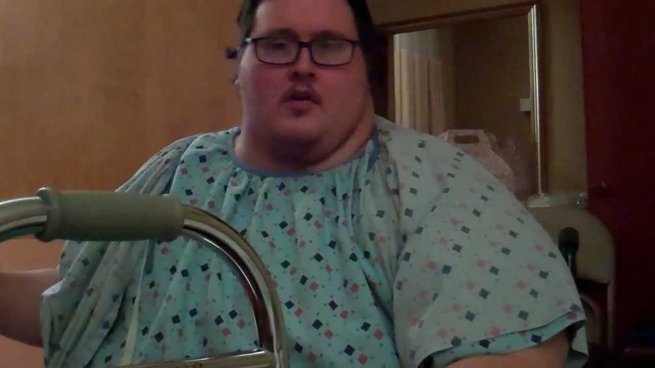 Standing and Smiling 650 pound Virgin