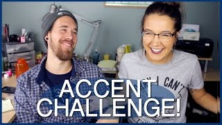 BEST ACCENT CHALLENGE!! (With Canadians!)
