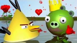 VALENTINE'S DAY a la Angry Birds ♫   3D SPOOF  ANIMATION - FunVideoTV-Style