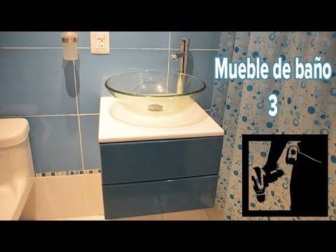 Como hacer un mueble de ba o flotante parte 3 solo - Como hacer mueble de bano ...