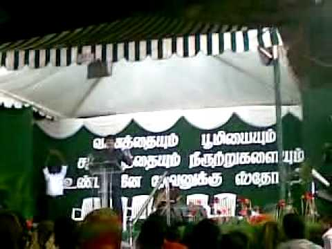 Blessing Tv Alan Paul Message at Chennai the last place in their Journey.mp4