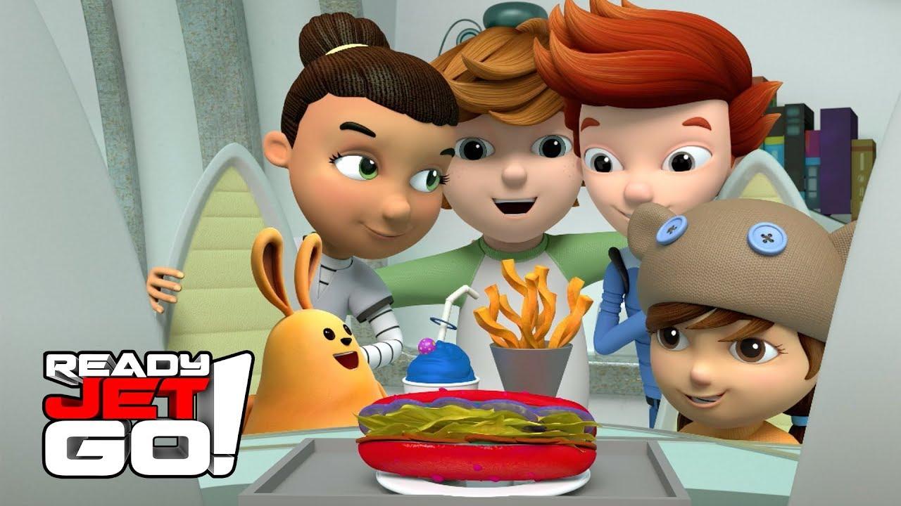 Jet ile Keşfet   Jet Yemek Pişiriyor - Çizgi Film