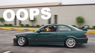 COPS CAUGHT US DRIFTING...