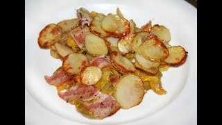 Секрет Самая вкусная картошка жареная с беконом и луком по Американски от АЛЕКСАНДРА 2017