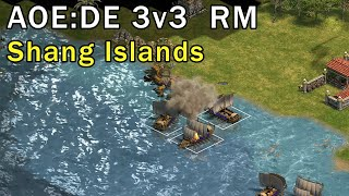 Age of Empires: Definitive Edition - 3v3 Islands eartahhj - 11/02/2018