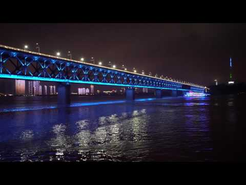 [2160p]再訪夜色下的武漢長江大橋 Visiting WuHan Yangtze-River Bridge In Night Again
