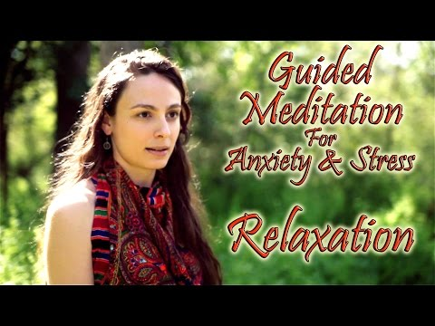 Guided Meditation For Anxiety & Stress Relief - Calming Relaxation & Breath Exercises