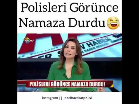 HIRSIZ POLİSLERİ GÖRÜNÇE NAMAZA DURDU #5