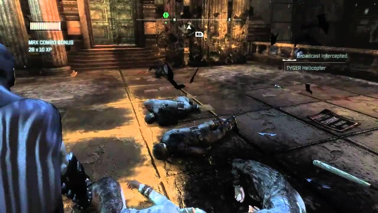 Batman Arkham City 10 Minutes Of Gameplay