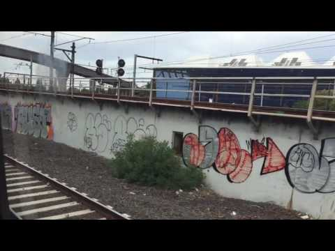 Metro Trains: Flinders Street to East Malvern via City Loop (Glen Waverley Line - Part 1)