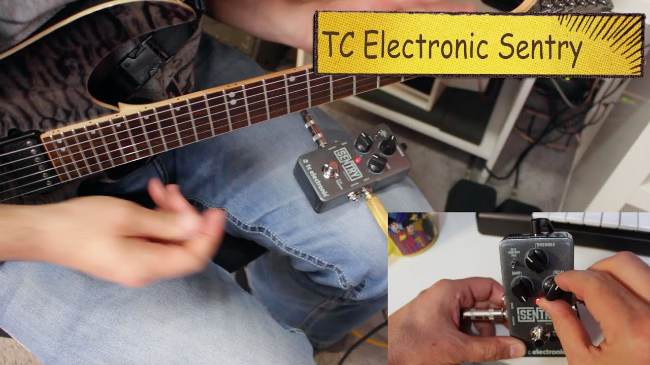Tc Electronic Sentry Noise Gate Review Youtube