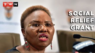 Minister of Social development Lindiwe Zulu outlined the government's Covid-19 relief measures to help ease the impact of the coronavirus pandemic. This comes after government reintroduced the R350 Covid-19 social relief of distress grant.