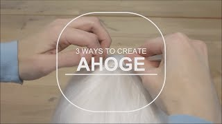 3 طرق لخلق Ahoge