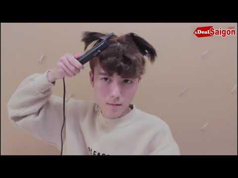 Uốn xoăn tóc nam chuẩn hàn quốc
