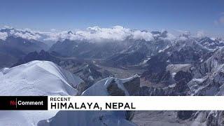 مشاهد تخطف الأنفاس لرحلة تسلق صعبة في جبال الهيمالايا