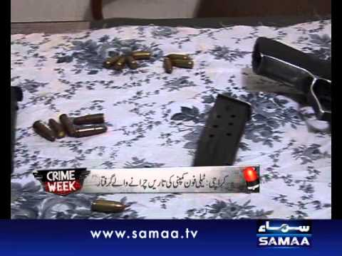 Crime Week Nov 25, 2011 SAMAA TV 3/3