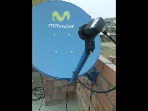 Como Ubicar y apuntar antena al Satelite Amazonas 61w e Hispasat