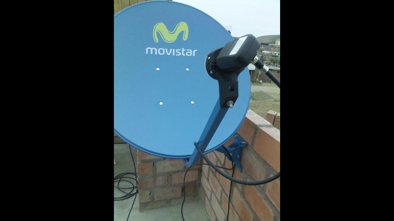 Como Ubicar Y Apuntar Antena Al Satelite Amazonas 61w E
