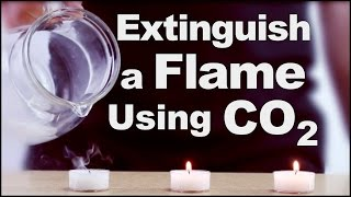 Cool Science Experiment #5 (Extinguish a Flame Using CO2)